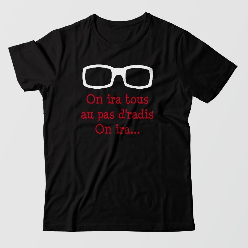 Tee shirt polnareff - On iras tous